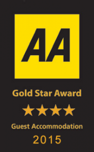Gold Star AA 4 Star Award North Devon